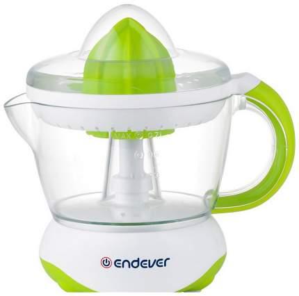 Соковыжималка для цитрусовых Endever Sigma-66 white/green