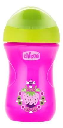 Поильник Chicco 266 мл (с 12 мес) розовый Клубничка