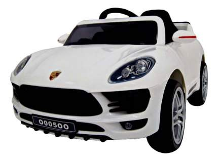 Электромобиль Porsche Macan Vip белый RIVERTOYS