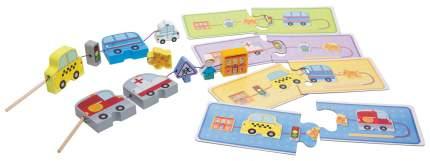 Семейная настольная игра Step Puzzle Город 89804