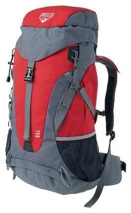 Туристический рюкзак Bestway Dura Trek 65 л красный/серый