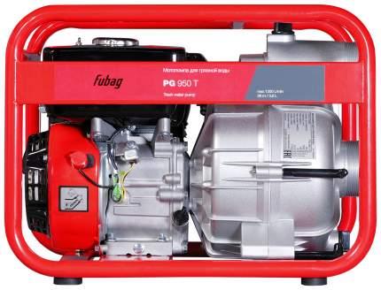 Бензиновая мотопомпа FUBAG PG 950 T для сильнозагрязненной воды 838246