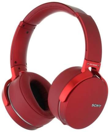Беспроводные наушники Sony MDRXB950B1RC Red