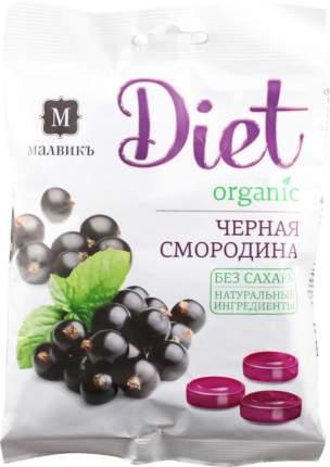 Карамель леденцовая Малвикъ diet с ароматом черной смородины 50 г