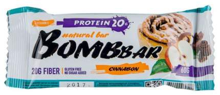 Протеиновый батончик Bombbar Protein Bar 60 г яблоко-корица