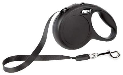 Поводок-рулетка для собак Flexi New Classic M M, 360 г, черный