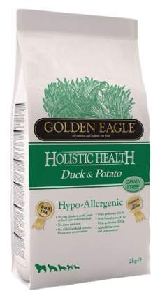 Сухой корм для собак Golden Eagle Hypo - allergenic 26/12, утка, овощи, 2кг