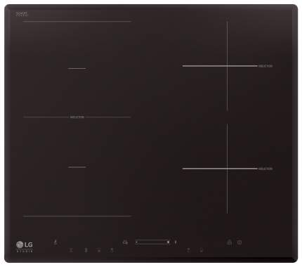 Встраиваемая варочная панель индукционная LG HU642VH Black