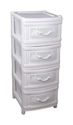 Комод Альтернатива М5507 М5507 48х39х98 см, белый