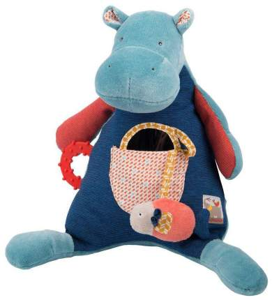 Мягкая игрушка Moulin Roty Бегемотик 658078