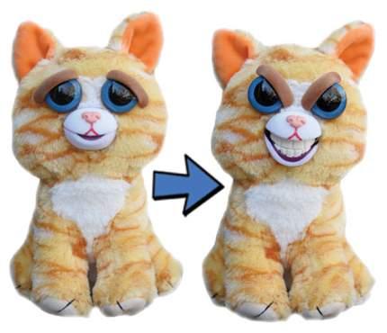 Мягкая игрушка Feisty pets Кошка рыжая 22 см