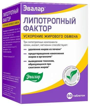 Жиросжигатель Эвалар SportExpert Липотропный фактор, 60 капсул