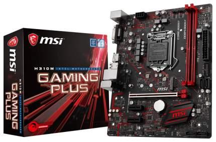 Материнская плата MSI H310M GAMING PLUS