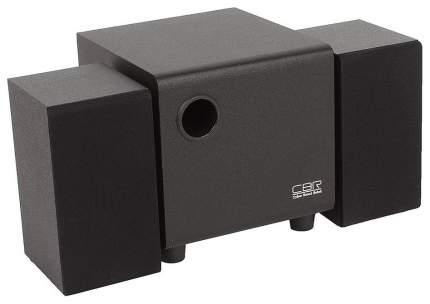 Колонки компьютерные CBR CMS 750 Black, 2,1,5W+3W*2, USB
