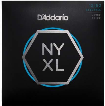 Струны для электрогитары D ADDARIO NYXL1252W