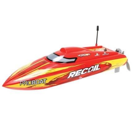 Радиоуправляемый катер ProBoat Recoil 17 Deep V Brushless RTR