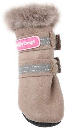 Сапоги для собак FOR MY DOGS, бежевые, FMD647-2019 Bg 1