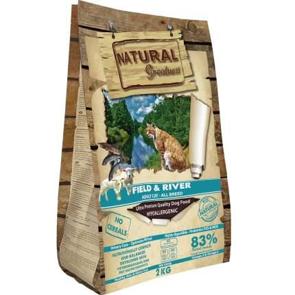 Сухой корм для кошек Natural Greatness Field&River Recipe, 2 кг