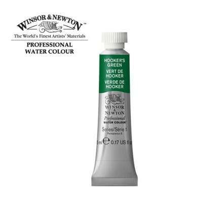 Акварель Winsor&Newton Artists Watercolour зеленый хукера 5 мл