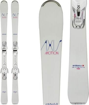 Горные лыжи Stockli Axis Motion + E Lithium 10 2017, white, 156 см