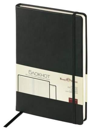 Блокнот с фиксирующей резинкой BrunoVisconti «Megapolis Velvet» Черный