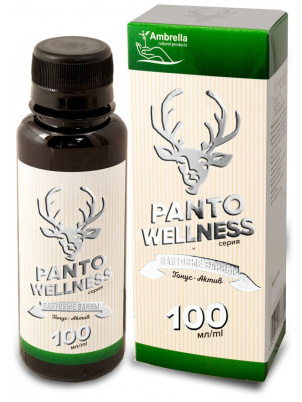 Ambrella Panto Wellness Пантовые Ванны  Тонус-Актив 100 мл (100 мл)