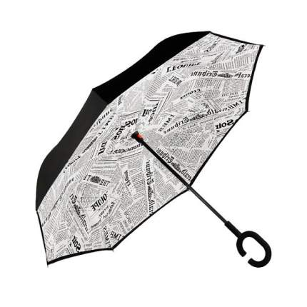 Зонт-трость UpBrella газета