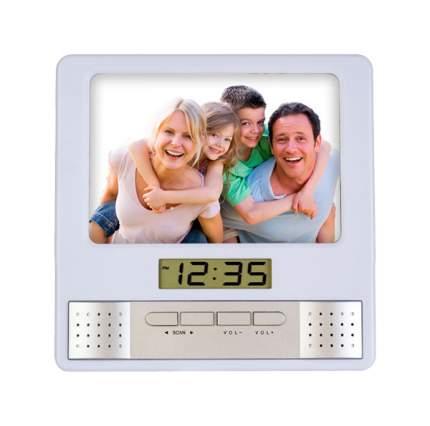 Радио-часы Perfeo Foto PF-S6005 Silver