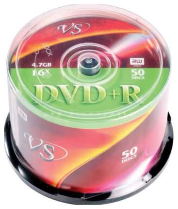 Диски DVD+R VS 4.7Gb 16х CakeBox 50шт (20472)