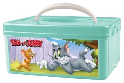 Ящик для хранения игрушек Tom and jerry зеленый
