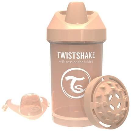 """Поильник Twistshake """"Crawler Cup"""", цвет: пастельный бежевый (Pastel Beige), 300 мл"""
