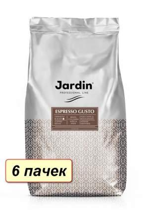 Кофе в зернах  Jardin  Espresso Gusto коробка 6 шт по 1000 г