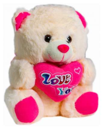 Мягкая игрушка Sima-Land Медведь с сердцем 4471242