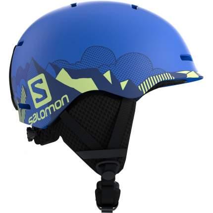 Горнолыжный шлем Salomon Grom Pop 2019 blue mat, S