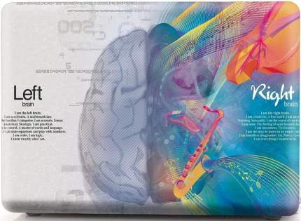 "Чехол для Macbook Air 13"" i-Blason Cover A1932 music left and right brain"