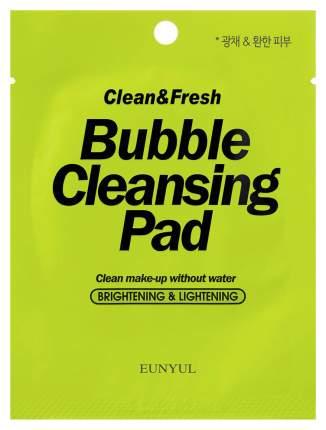 Средство для снятия макияжа Eunyul Clean & Fresh Bubble Cleansing Pad 1 шт