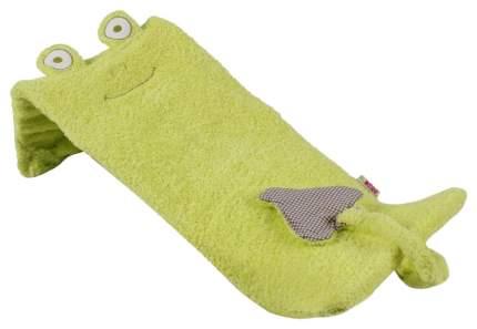 """Лежачок для купания """"Плюшевый лягушонок"""", 42x25x15 см (зеленый)"""