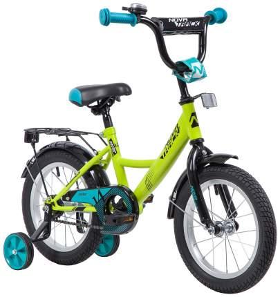 """Велосипед Novatrack """"Vector"""" (цвет: салатовый, 14"""")"""