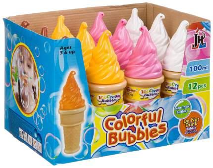 Набор радужных мыльных пузырей, мороженое D/B 12 шт. по 100 мл, ВОХ 23,5?17?17,5 см
