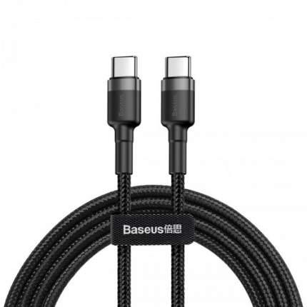 Кабель Baseus Cafule Series Type-C 2m Grey/Black/Black