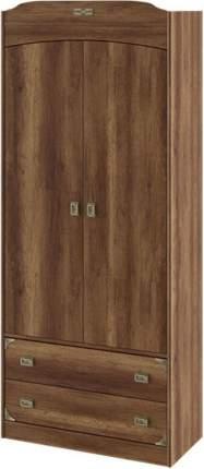Платяной шкаф Hoff Навигатор 80321241 90,2х216,1х43,4, дуб каньон