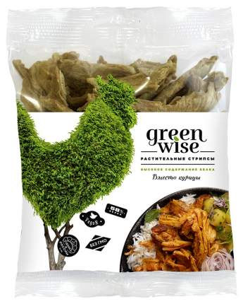 Растительные стрипсы Greenwise вместо курицы