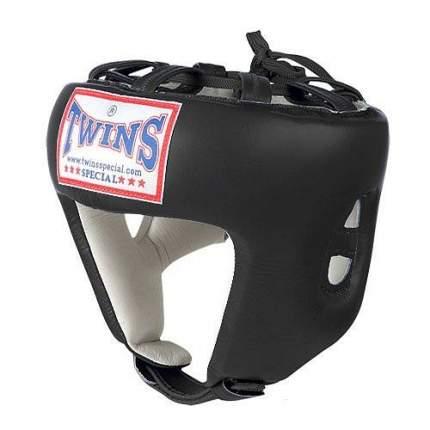 Боксерский шлем Twins HGL8 черный