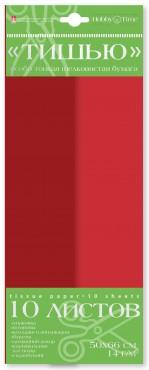 """Бумага цветная """"Тишью"""", красный, бордовый"""