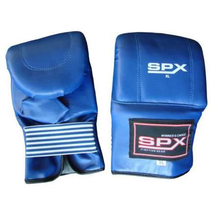 Боксерские перчатки Hawk PS-853 синие 14 унций