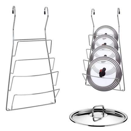 Подставка для крышек навесная на рейлинг, 20х37 см