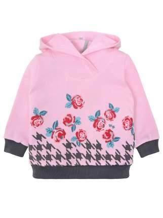 Джемпер для девочки Мамуляндия 19-826 Футер, Розовый р.116