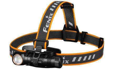Туристический фонарь Fenix HM61R холодный, черный, 8 режимов