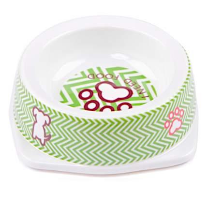 Миска для домашних животных Bobo, зеленая, 130 мл
