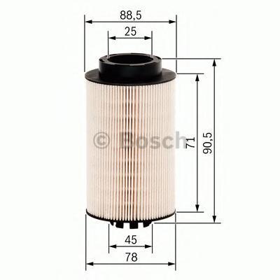 Фильтр топливный BOSCH F026402062